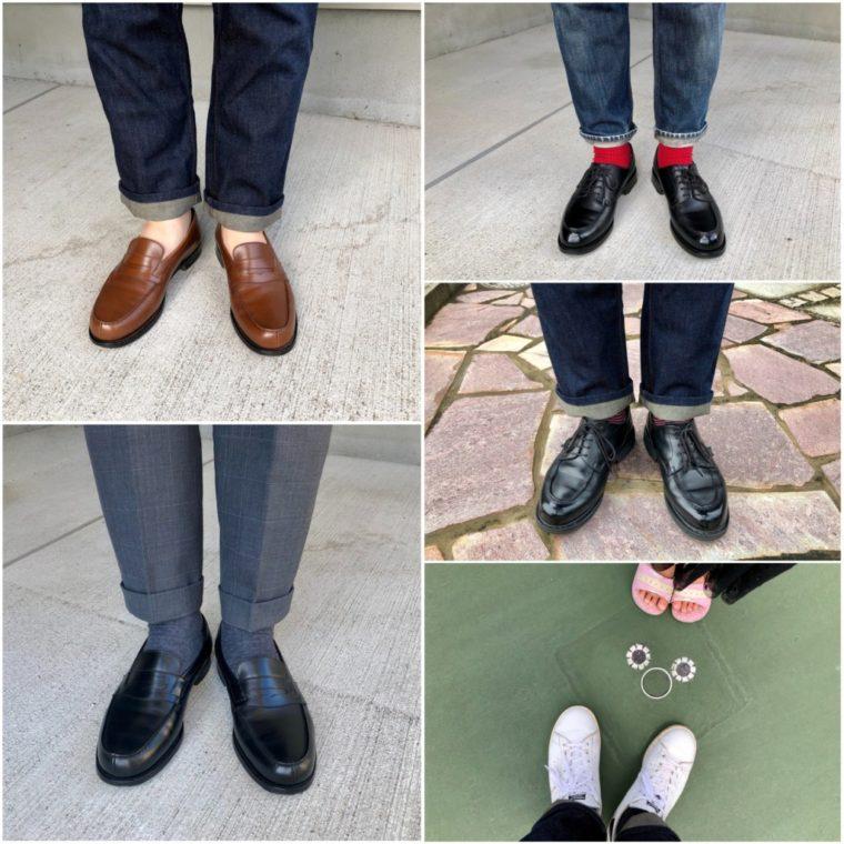 今週の靴〜今日は誕生日