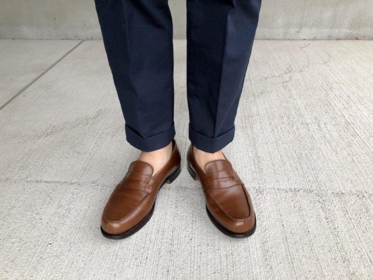 今週の靴〜久しぶりにマスターロイドWELHAMを履く