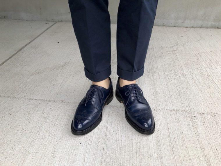 今週の靴〜久しぶりのJMウェストン588