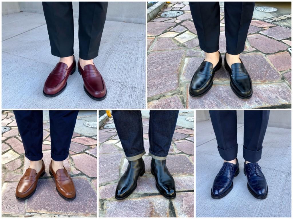 今週の靴~小指がやばい