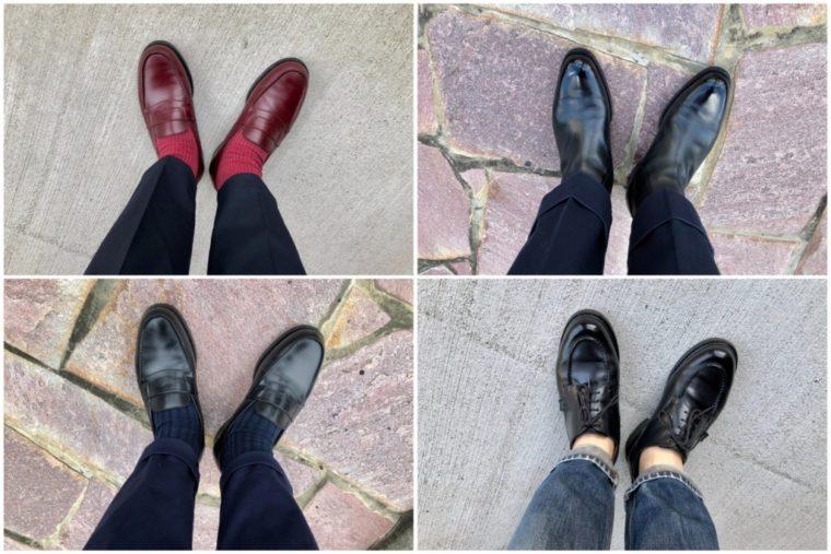 今週の靴〜週が4日って最高