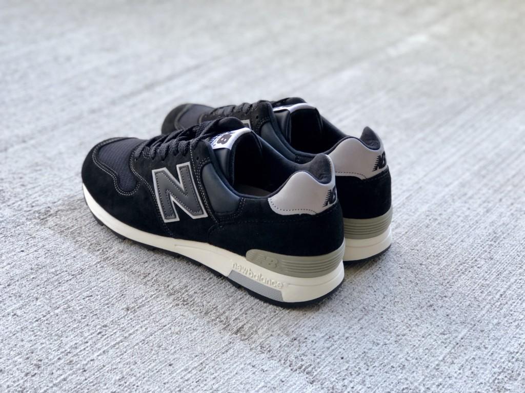 ニューバランスM1400 BKS(ブラック)_ヒール