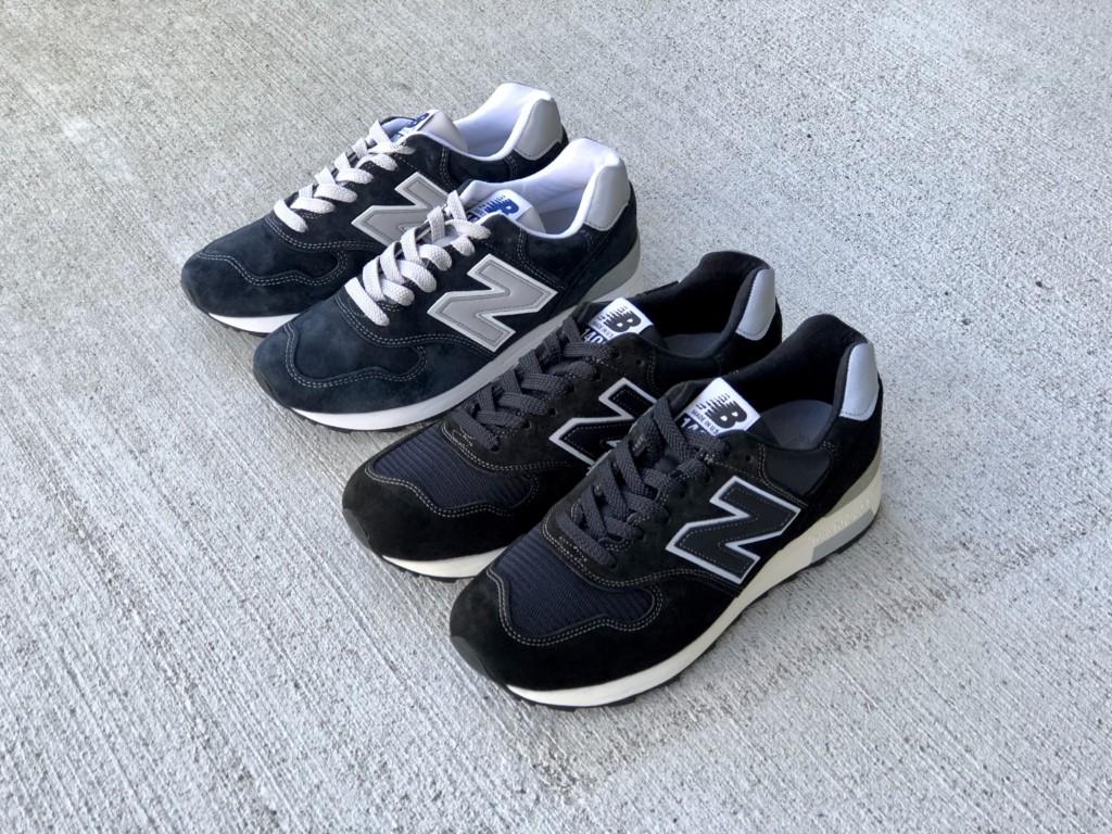 ニューバランスM1400 BKS(ブラック)とNV(ネイビー)_1