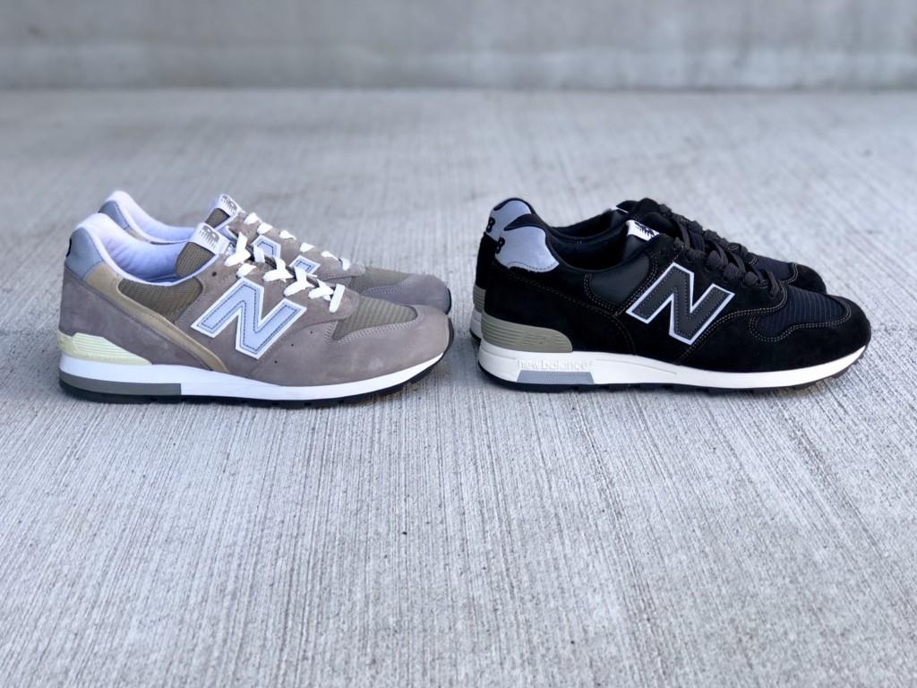 ニューバランスM1400 BKS(ブラック)とM996(グレー)_2