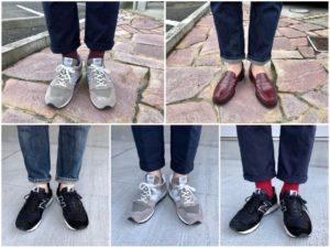 今週の靴〜右足の小指がやばいのでニューバランスローテ