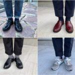 今週の靴〜4週間ぶりにバーガンディのローファーを履いてみる