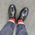 今週の靴〜リゾルト712を買い直してウキウキ