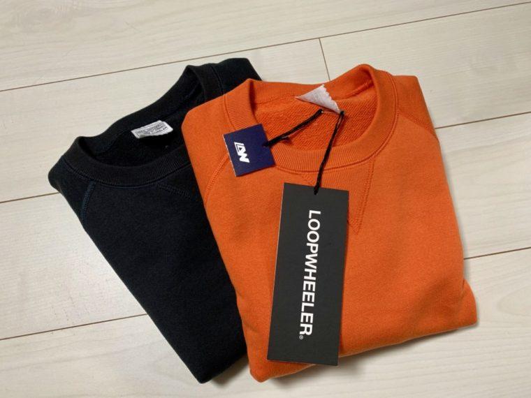 ループウィラーの半袖スウェットを色違いで2着購入!