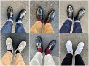 今週の靴〜雨予報が多い1週間
