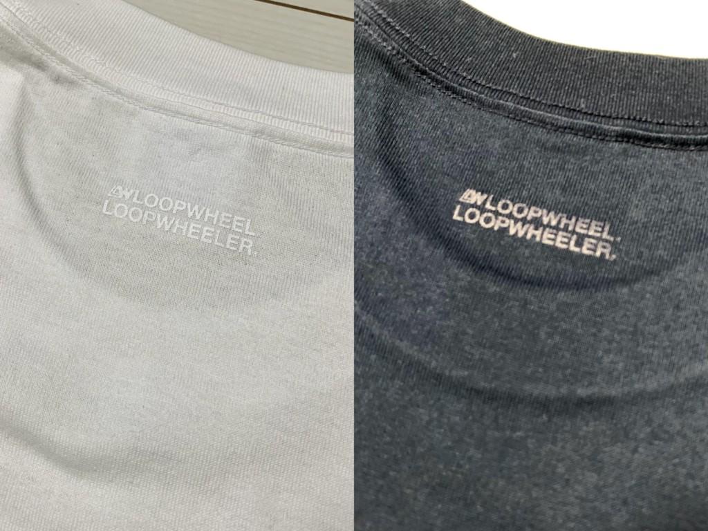 ループウィラー半袖ポケットTシャツ(LW56)の背中のプリントの画像