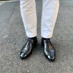今週の靴〜久しぶりにカドガンを履く