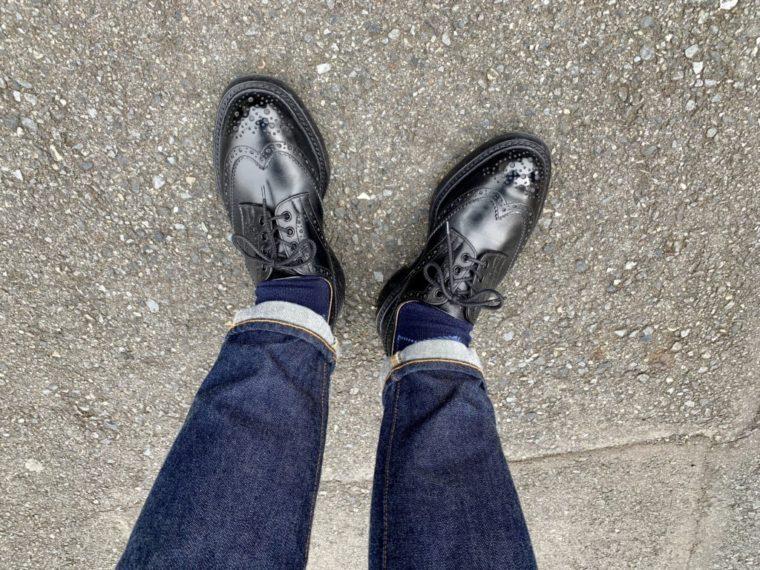 雨だったり、暖かかったり、寒かったり【今週の靴】