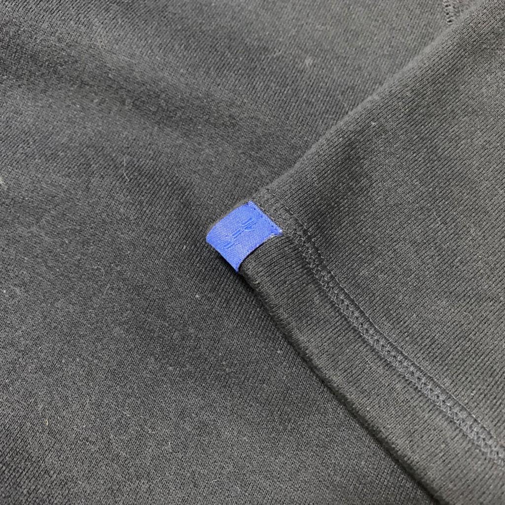 LOOPWHEELER×BEST MADE×HUNDREDSONコラボ 半袖スウェットのループウィラーのタグの画像