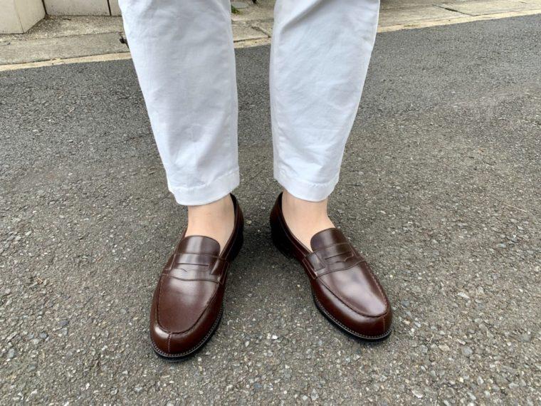 ずれない靴下問題は続く【今週の靴】