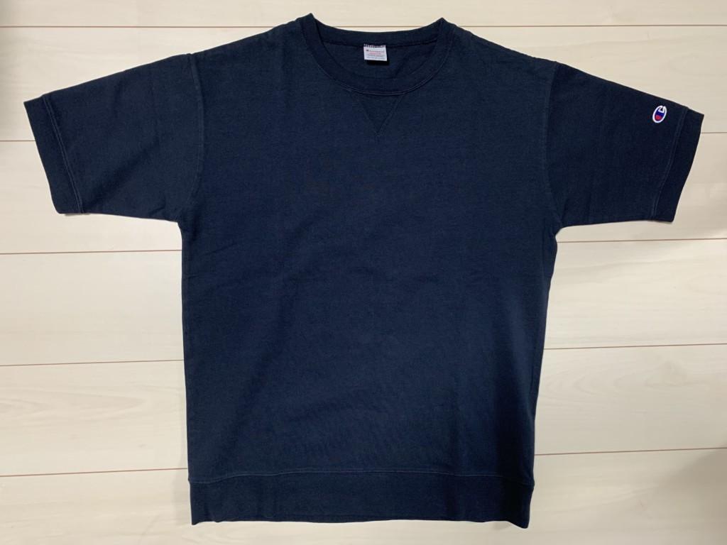 チャンピオン×SHIPS別注「スウェット型Tシャツ」の画像