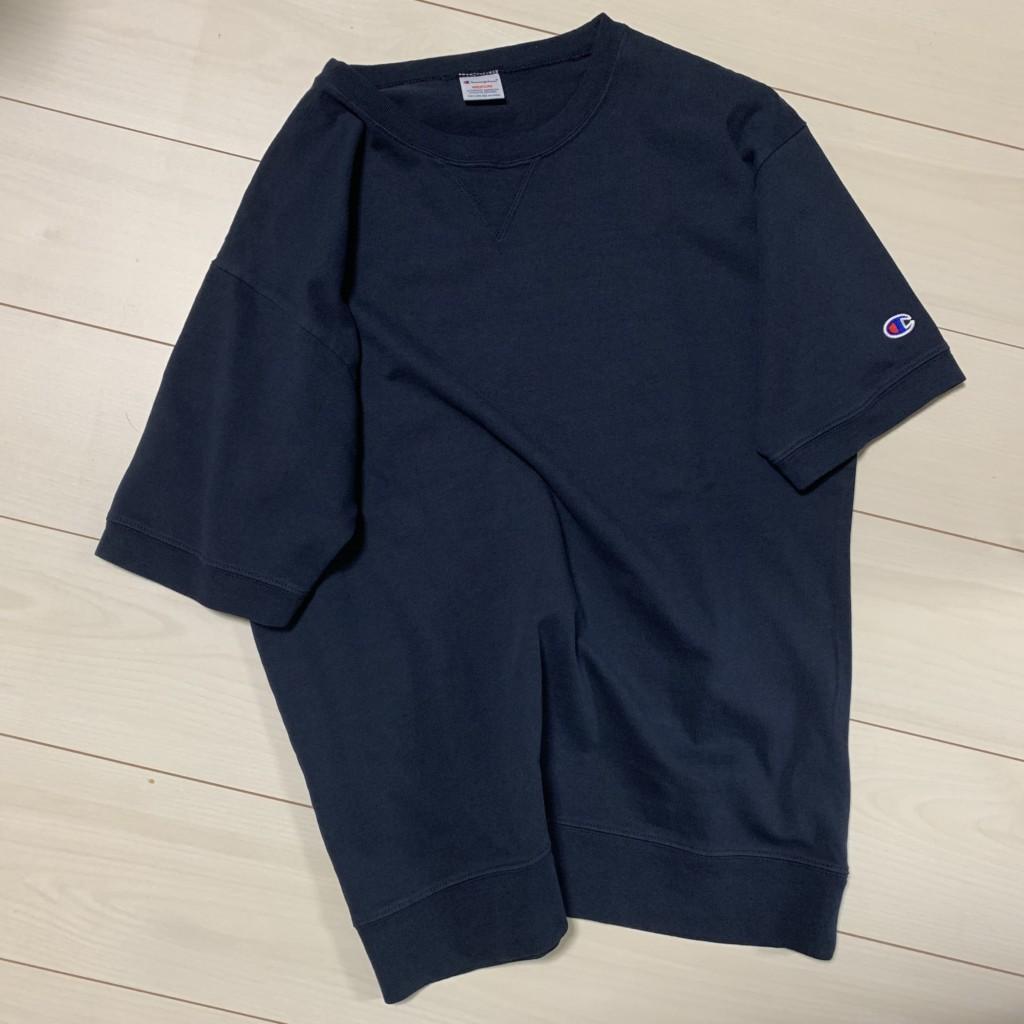 チャンピオン×SHIPS別注「スウェット型Tシャツ」のTOP画像