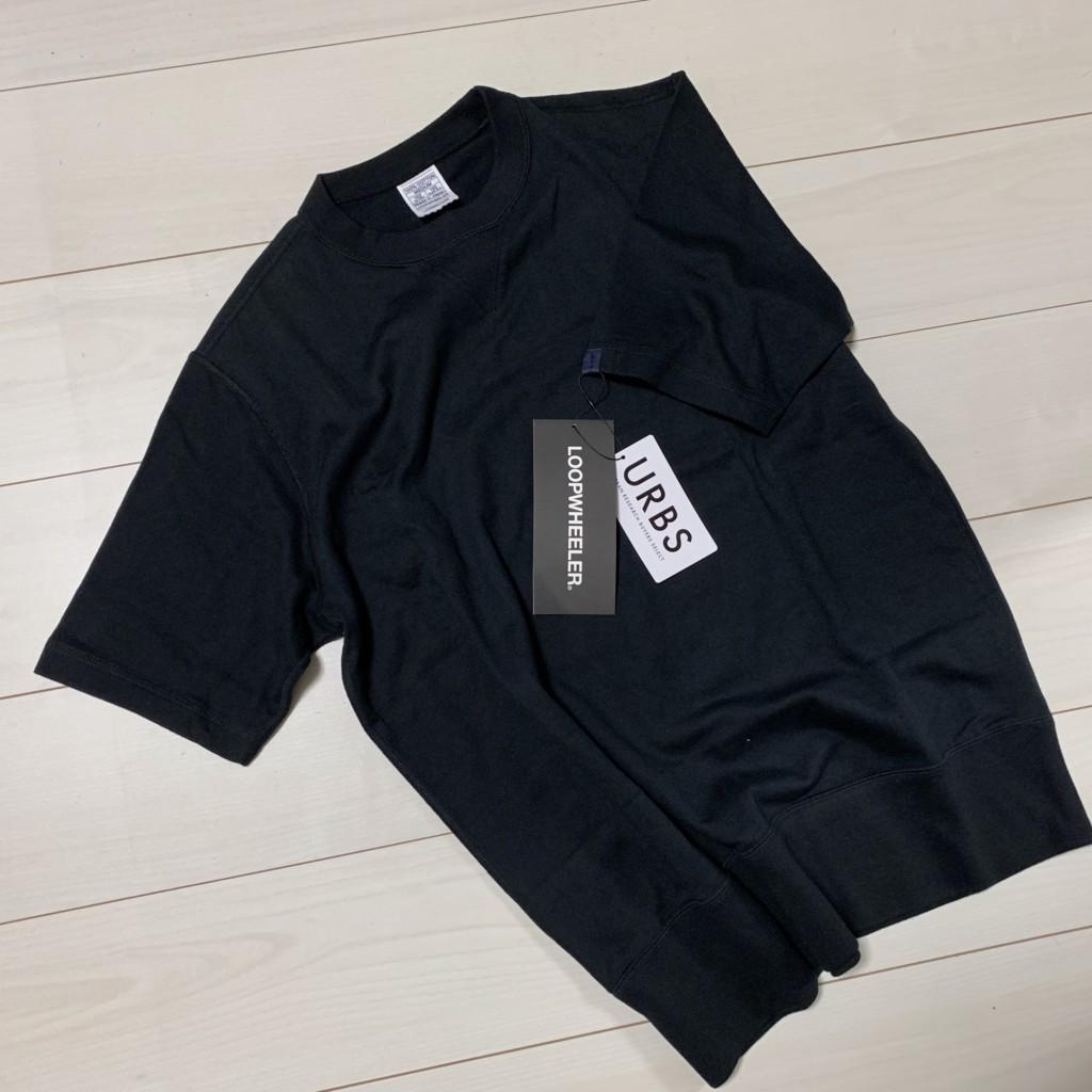 ループウィラー×LOWERCASE「天竺ショートスリーブTシャツ」のトップ画像