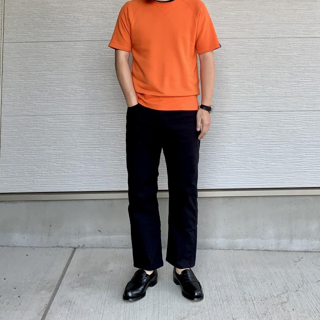 リーバイス505「workwear」黒のコーデ画像