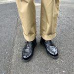 マッキントッシュフィロソフィーのパンツとT1011を購入してウキウキ【今週の靴】