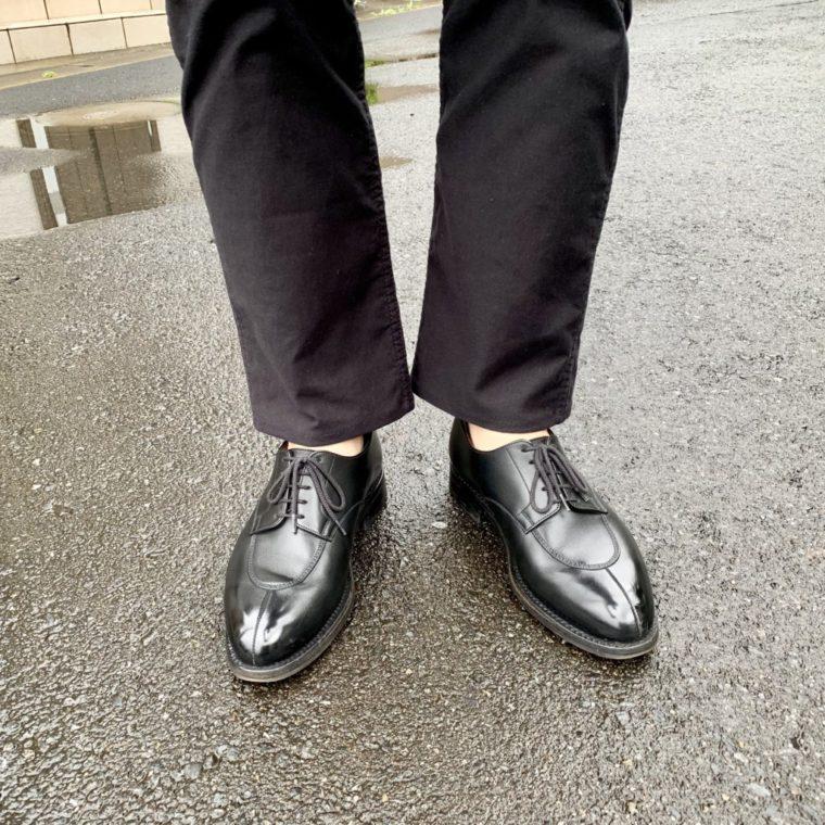 雨用の革靴が足りない【今週の靴】