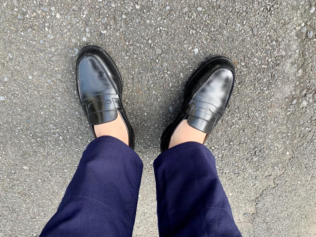 レディースのココピタ深履きを履いた画像