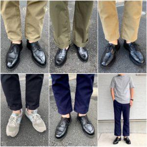 まだちょっとキ◯タマが痛い【今週の靴】