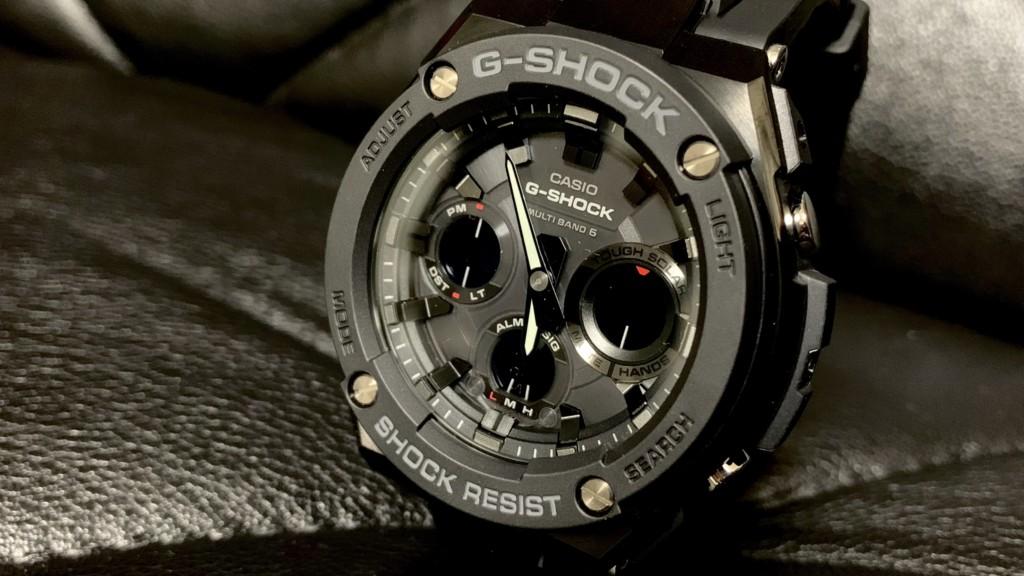 G-SHOCK G-STEEL(Gショック Gスチール)GST-W100G-1BJFのトップ画像
