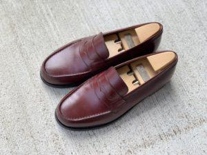 【今週の靴磨き】JMウエストン「180ローファー」バーガンディの画像