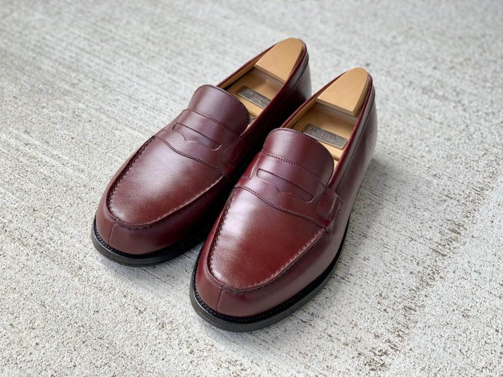 【今週の靴磨き】JMウエストン「180ローファー」バーガンディの画像3