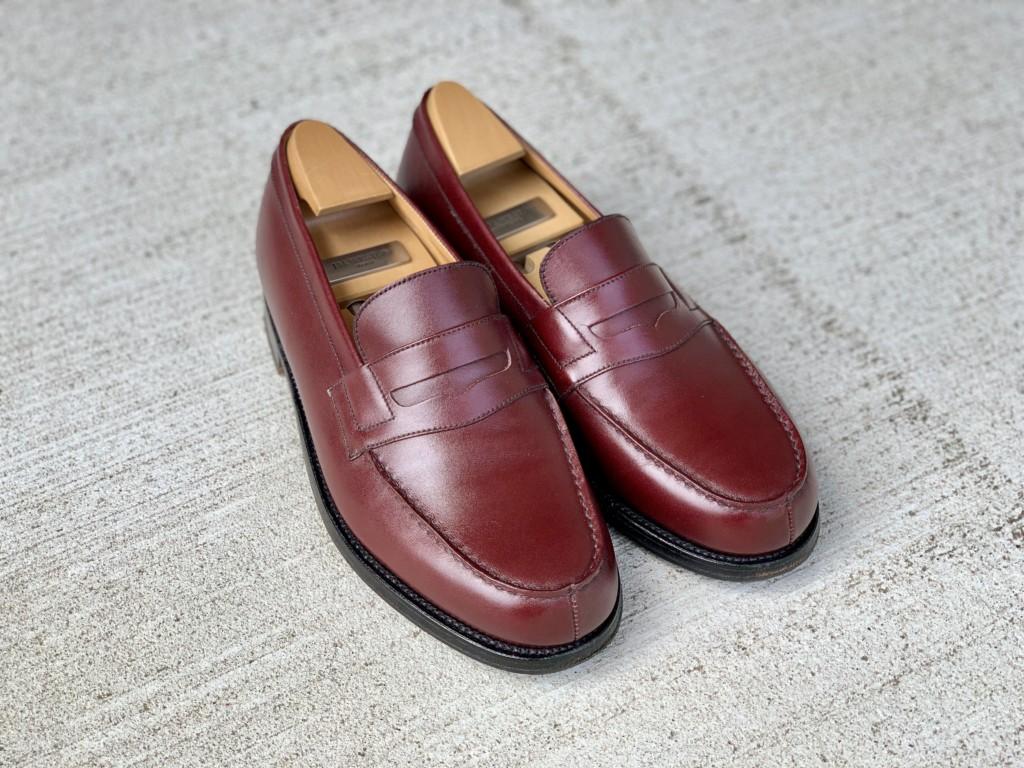 【今週の靴磨き】JMウエストン「180ローファー」バーガンディの画像4