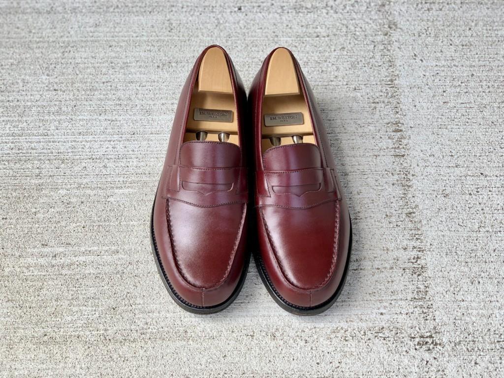 【今週の靴磨き】JMウエストン「180ローファー」バーガンディの画像2