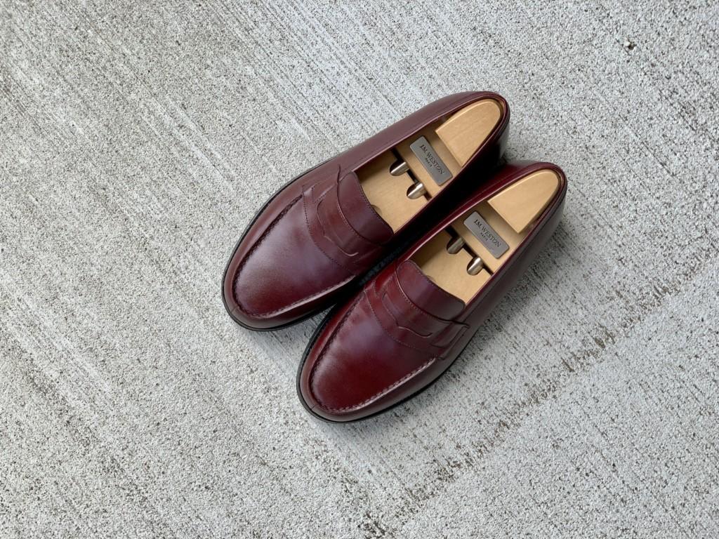 【今週の靴磨き】JMウエストン「180ローファー」バーガンディの画像7