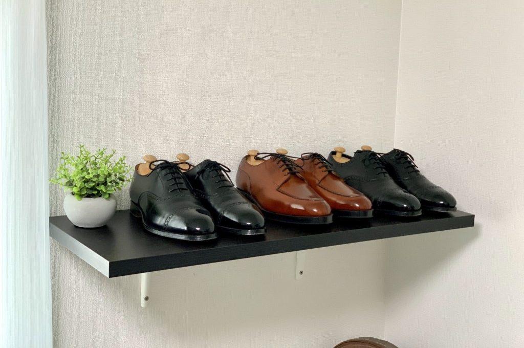 靴神様の棚の画像