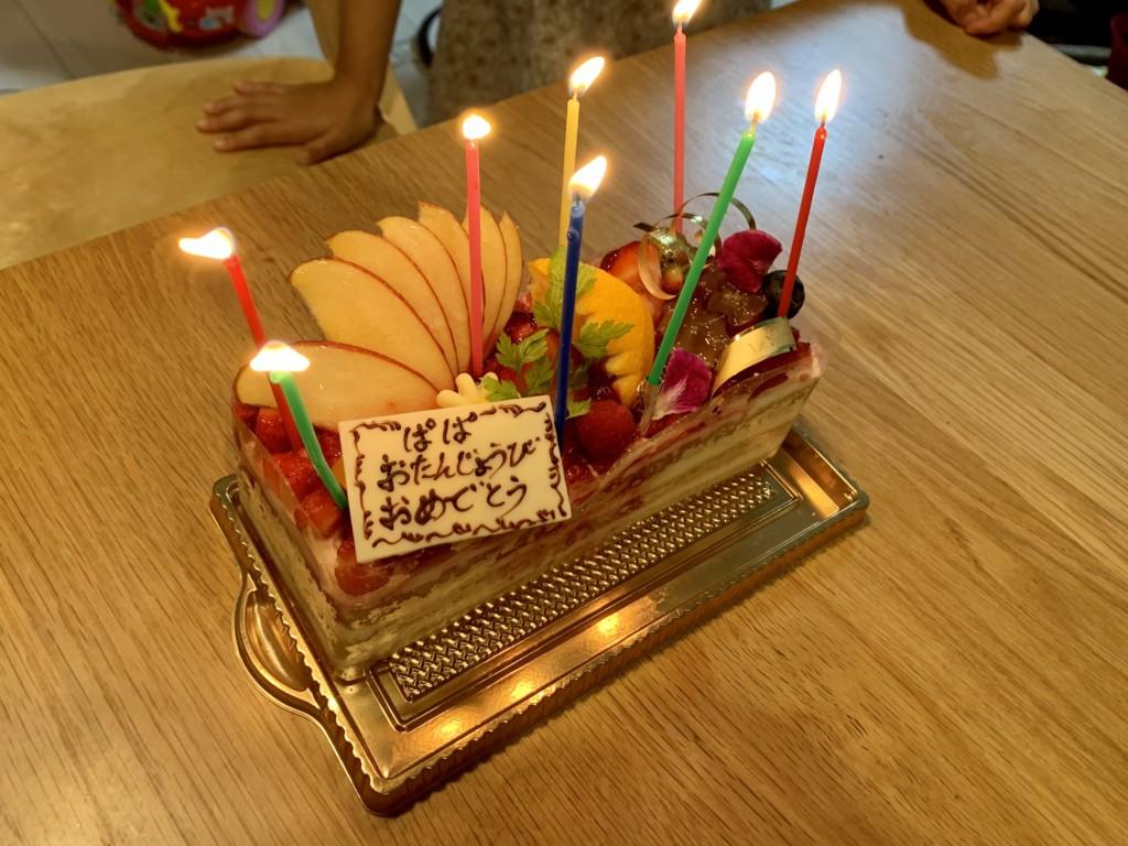 44歳の誕生日ケーキ