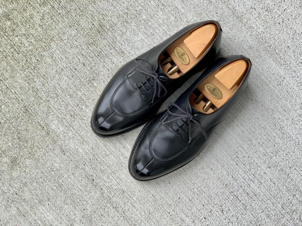 JMウエストン598の靴磨きのトップ画像