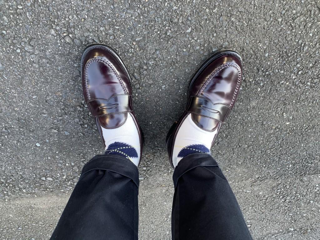 オールデンのローファーを『パカパカで履く』決意を固める【今週の靴】