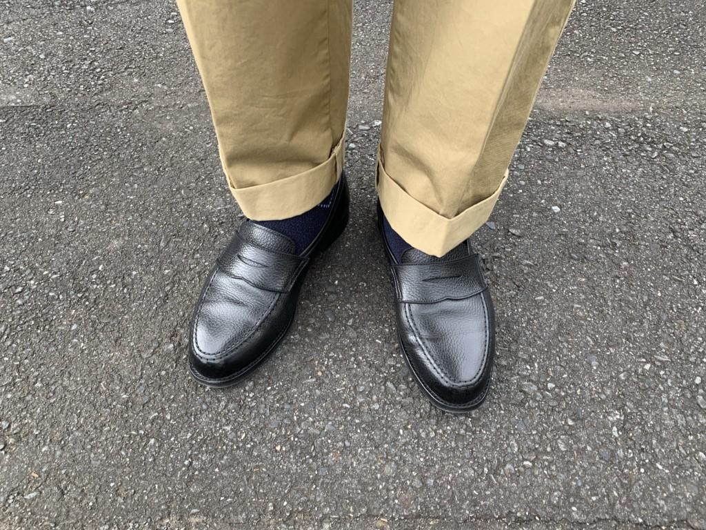 クロケット&ジョーンズのボストン2もパカパカで履く【今週の靴】