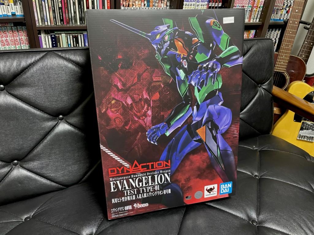 DYNACTION(ダイナクション)エヴェンゲリオン初号機の箱の画像