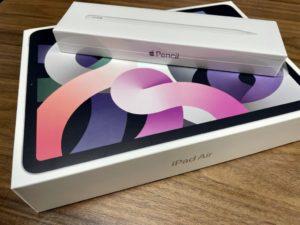 iPad Air(第4世代)とApple Pencilの画像