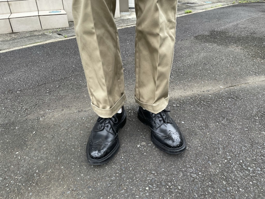 【今週の靴】バートンを雨用に、する!