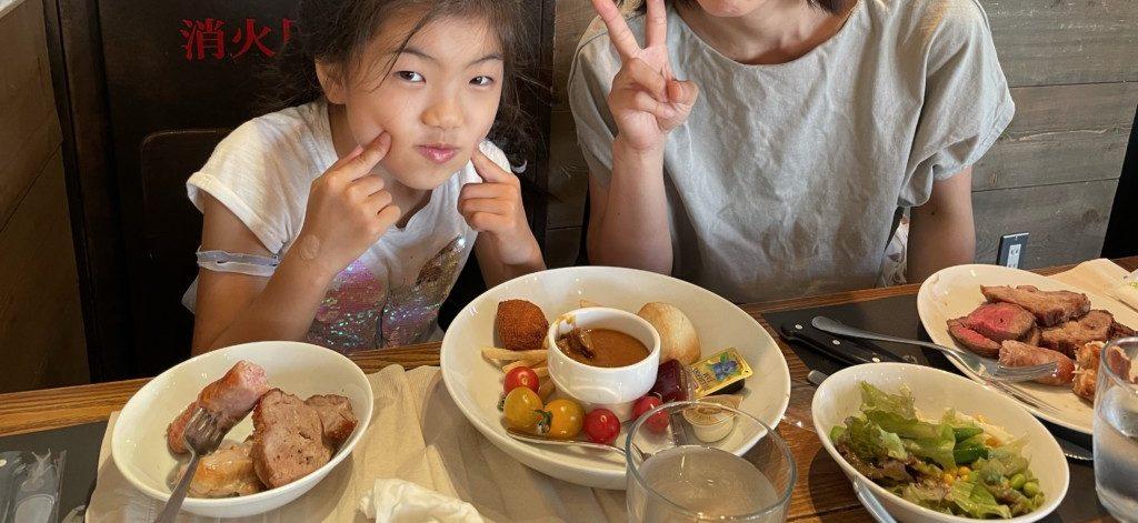 渋谷のバルバッコアで食事の画像